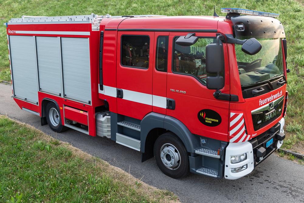 Tanklöschfahrzeug TLF Rüfenacht